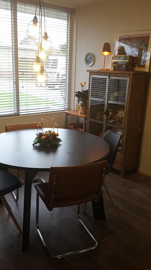 Interieuradvies woonkamer/keuken/hal - Sandra\'s Interieurstyling