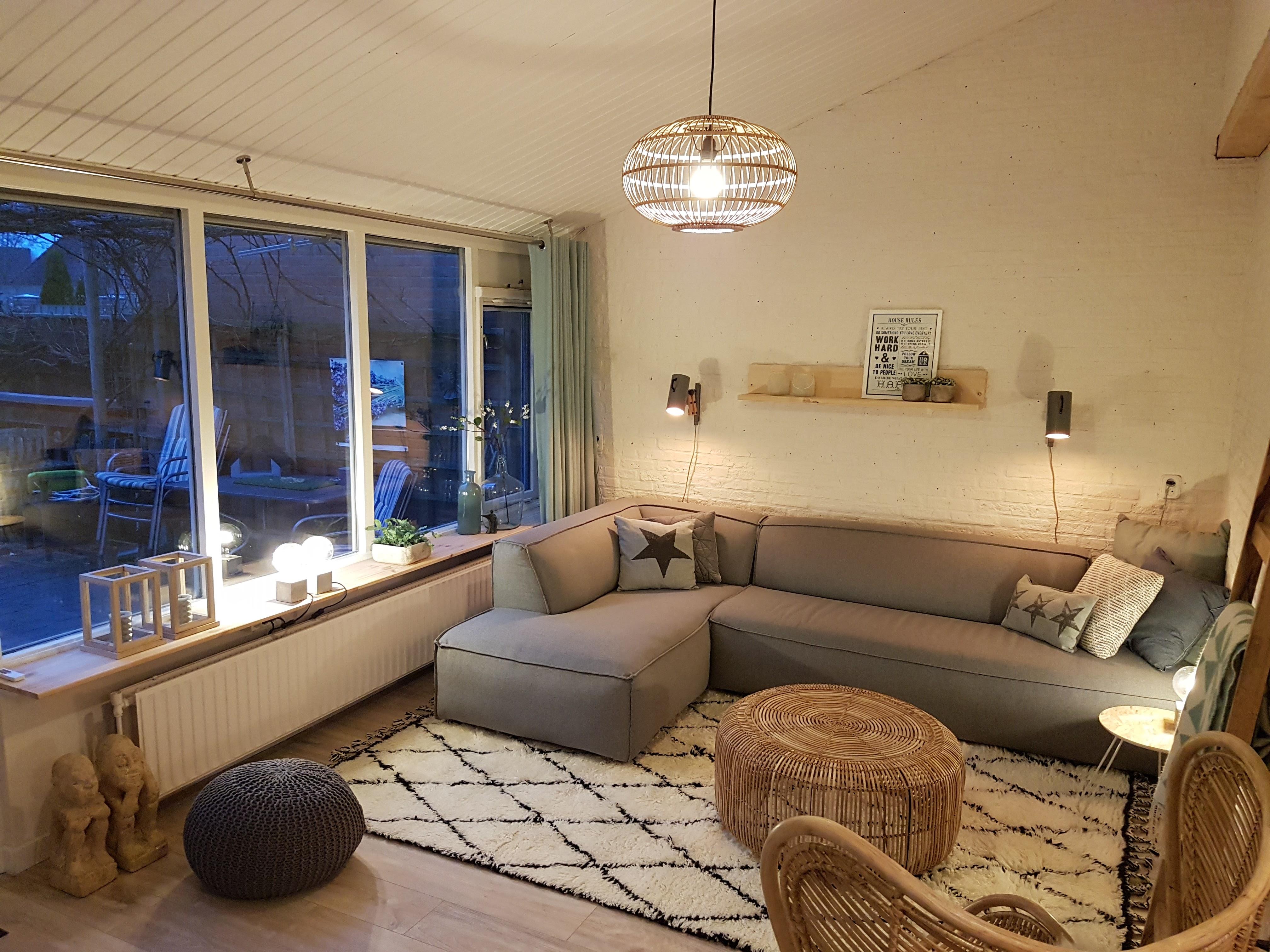 Eethoek In Woonkamer : Herinrichting woonkamer en eethoek sandras interieurstyling