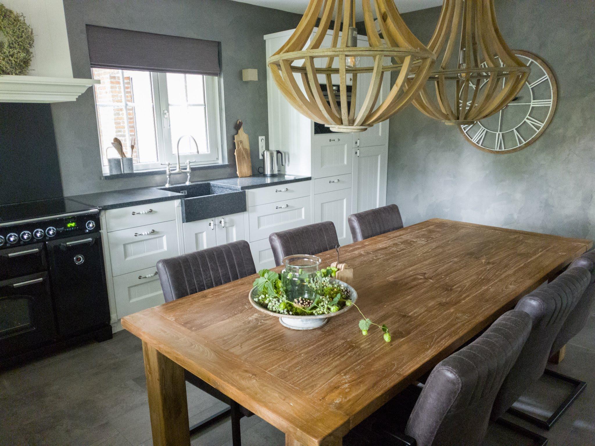 Landelijke herinrichting woonkamer keuken sandra's interieurstyling (11)