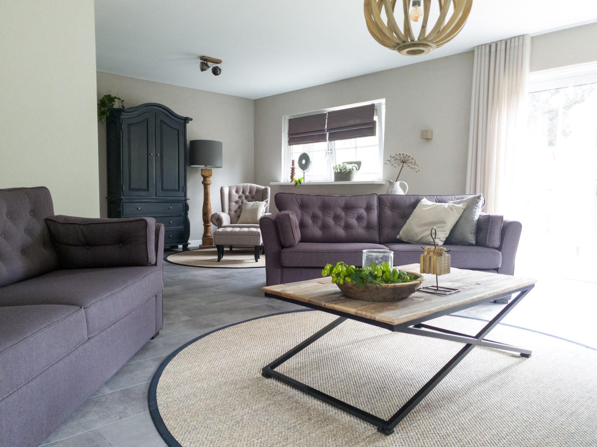 Landelijke herinrichting woonkamer keuken sandra's interieurstyling (2)