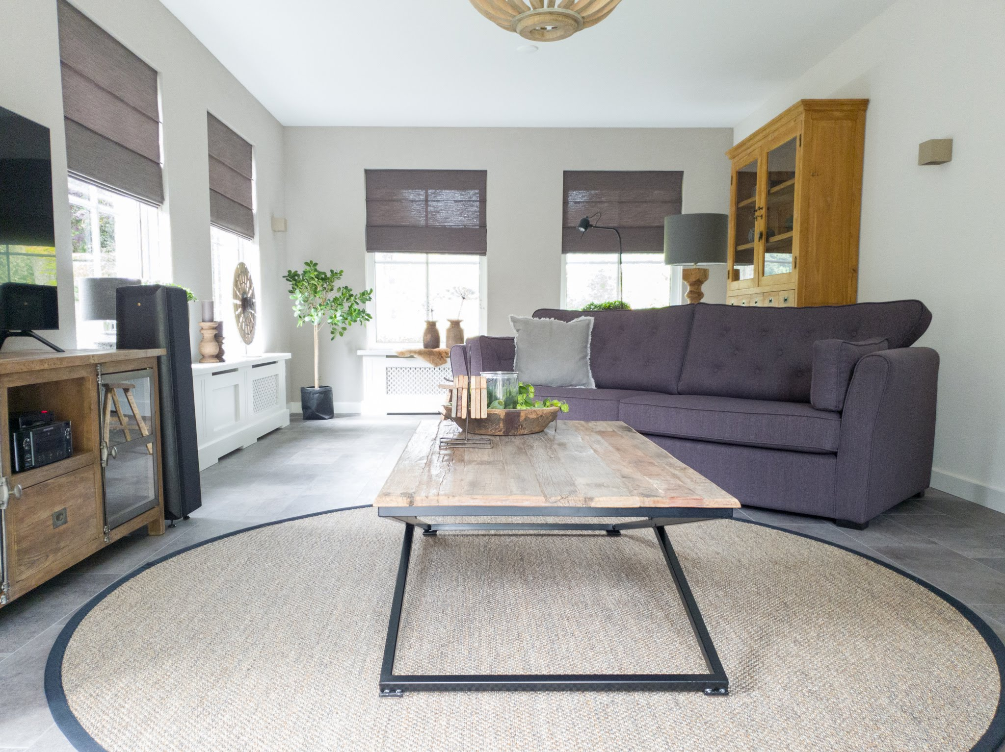 Landelijke herinrichting woonkamer keuken sandra's interieurstyling (5)
