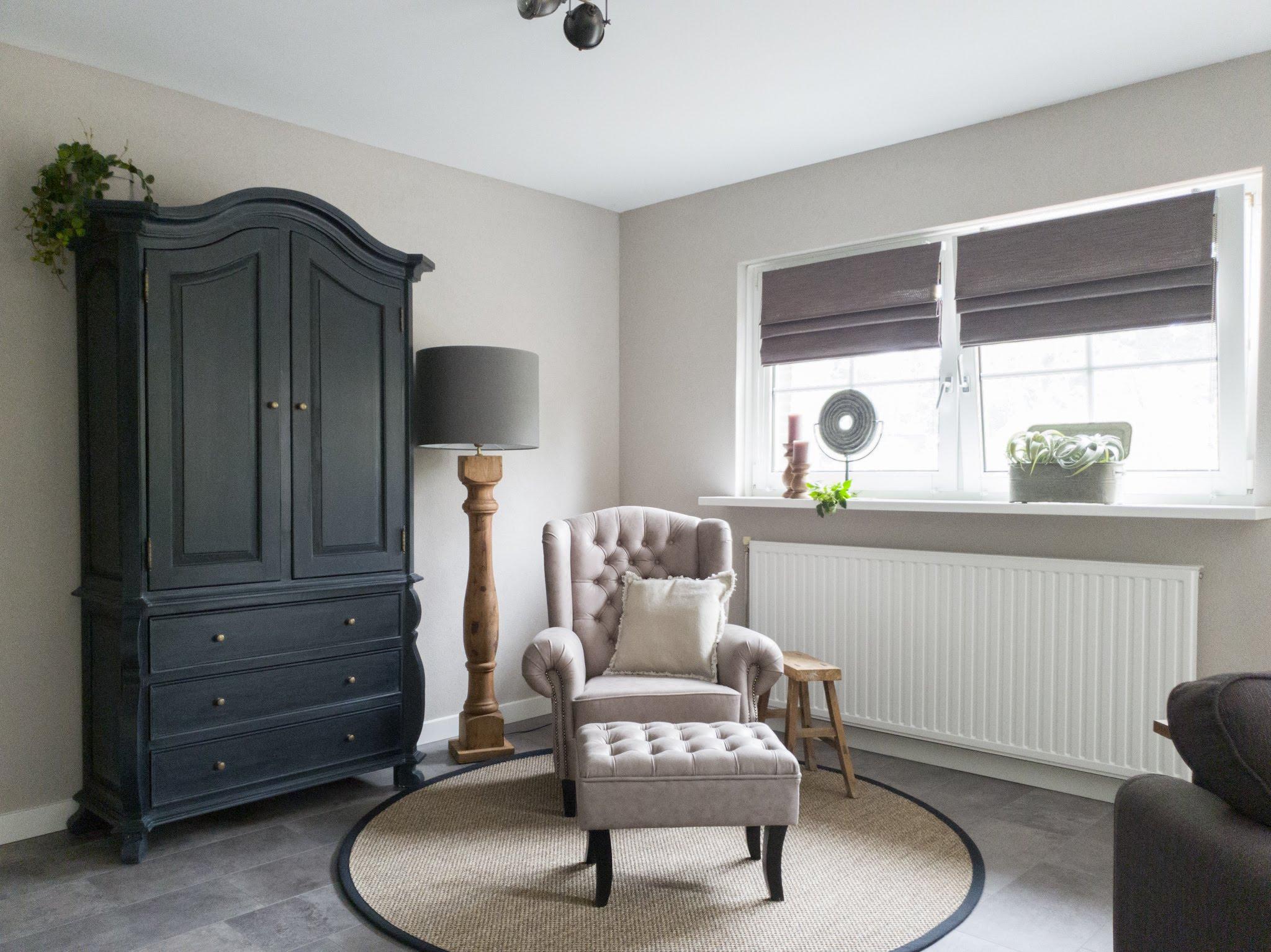 Landelijke herinrichting woonkamer keuken sandra's interieurstyling (7)