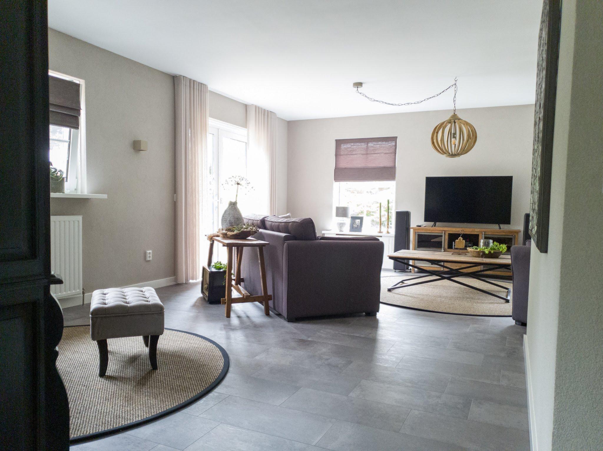 Landelijke herinrichting woonkamer keuken sandra's interieurstyling (8)