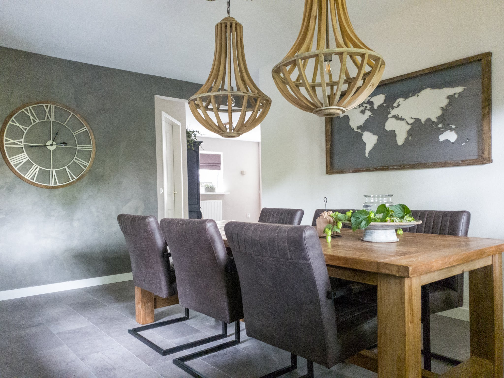 Landelijke herinrichting woonkamer keuken sandra's interieurstyling (9)
