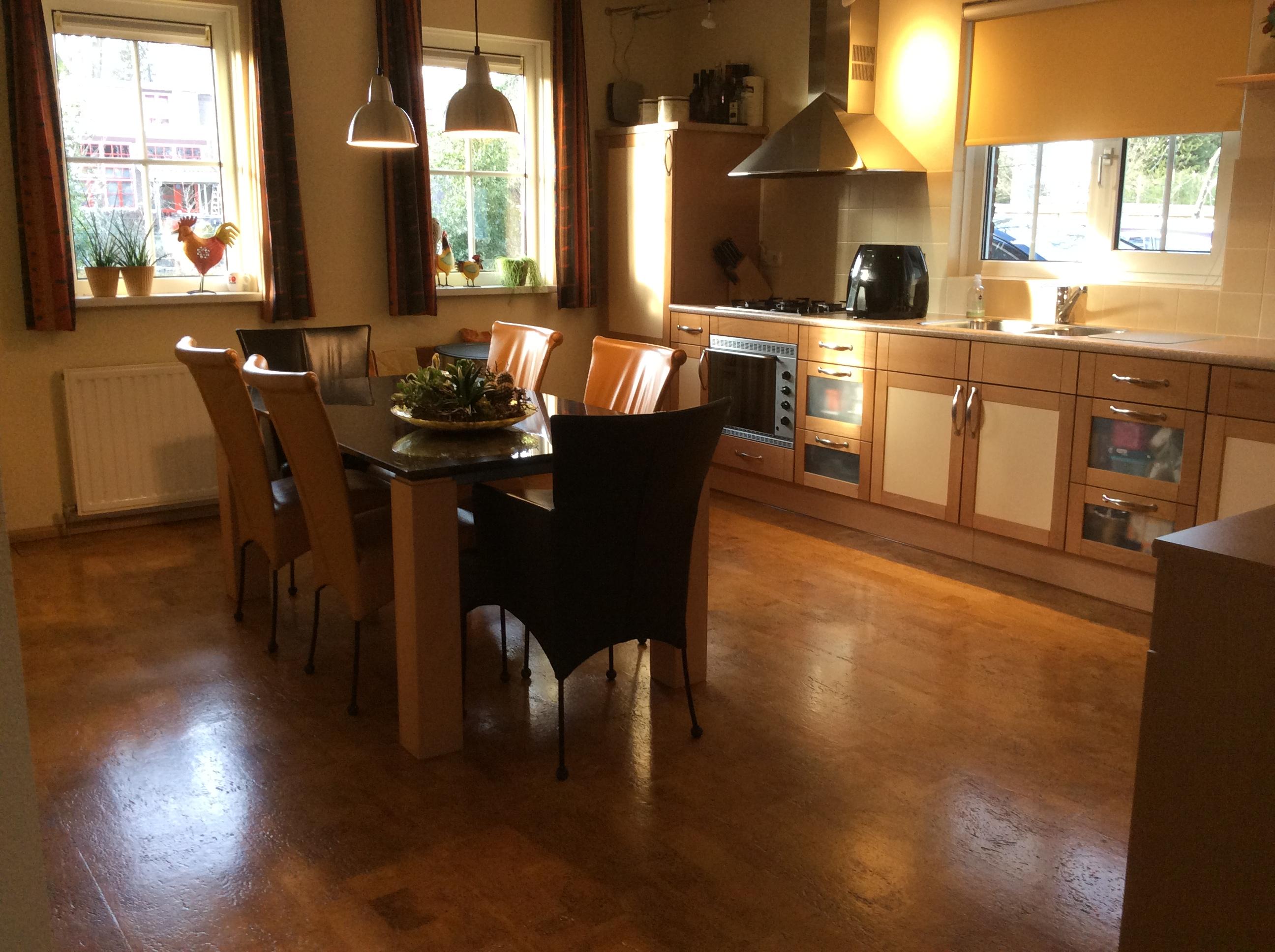 foto oude keuken