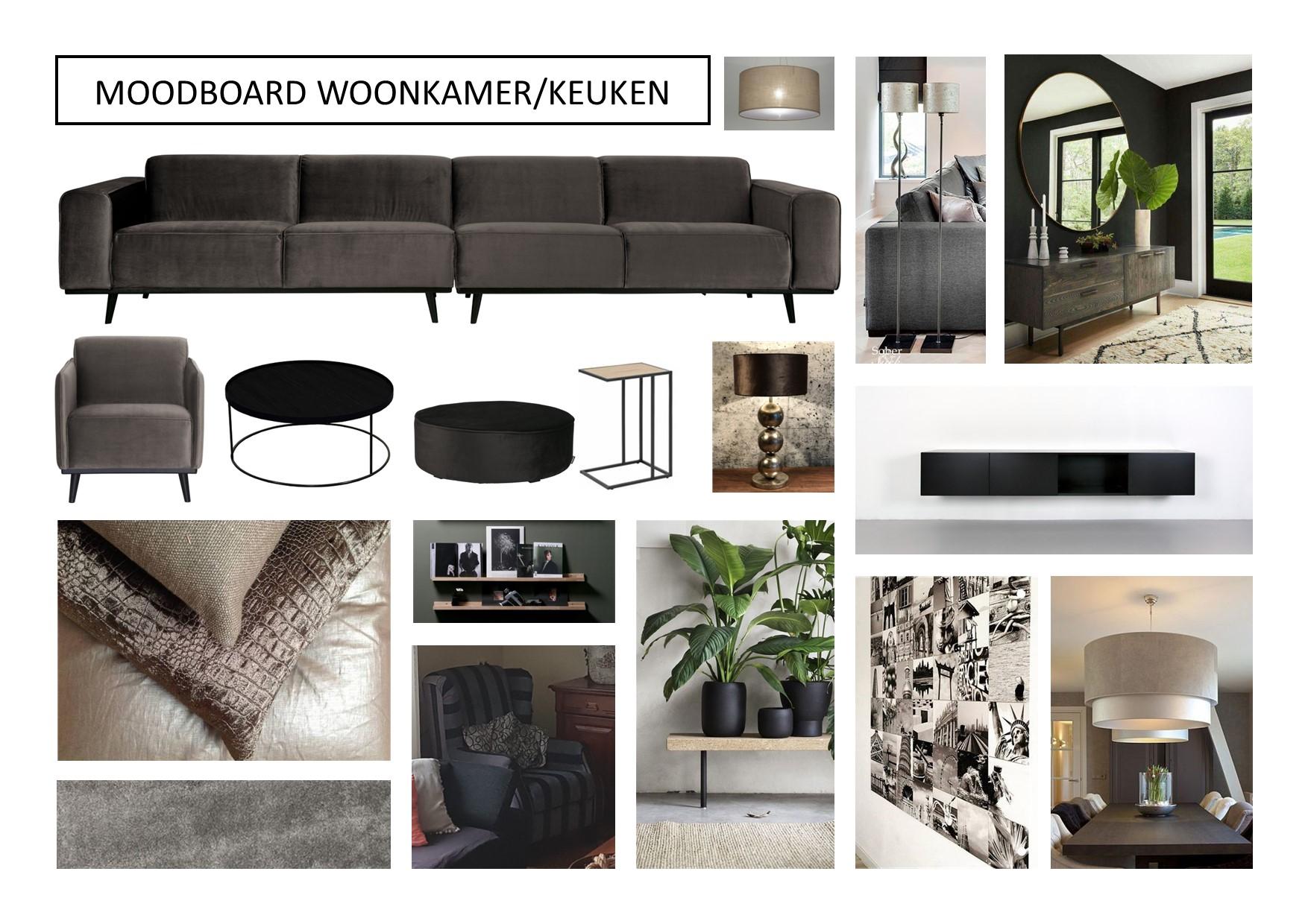 Moodboard meubelplan