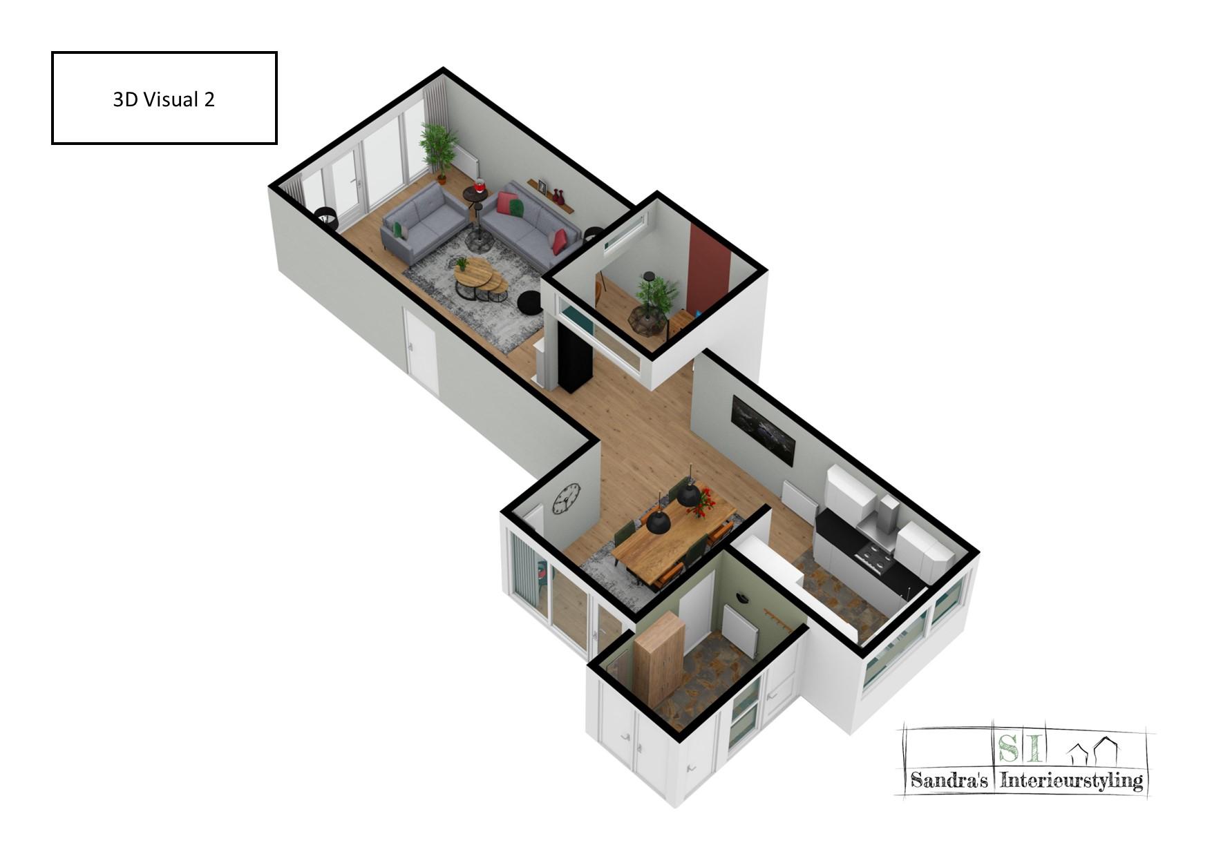 3D visual Sandra's Interieurstyling